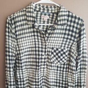 Merona Checkered Tunic